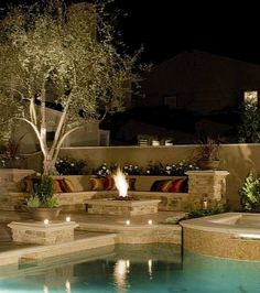 Cozy Fireplaces - - patio - los angeles - by Mirage Landscape