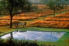 Jardin plume Normandië