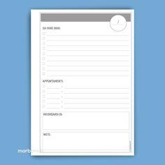 Download modelli fai da te da stampare. Idee da stampare per realizzare da soli block notes, agende, planner per l'ufficio e la casa.