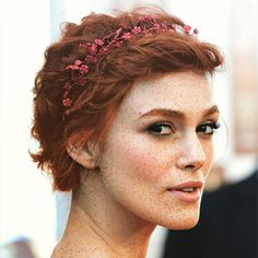 Pin for Later: Celebrities Get Epic Makeovers With Red Hair and Freckles Keira Knightley