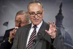 Chuck Schumer is legislating syrup now