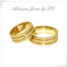 Joias by LG - Por LG anéis de formatura: Aliança de casamento e noivado