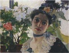 Portrait of Clothilde - Joaquín Sorolla