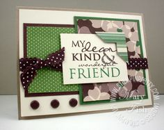 Stampin up all holidays rubber stamp photo corner punch
