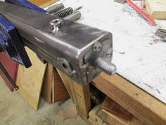 Diy Knife Grinder Knife Maker Shows You Step By Step Tutorials On Building A Diy Knife Sharpening Grinder Diy Belt Grinder Plans Knife Grinding Jig, Knife Grinder, Bench Grinder, Knife Sharpening, 2x72 Belt Grinder Plans, Diy Belt Sander, Homemade Machine, Knife Making Tools, Diy Knife