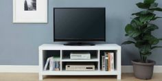 Mainstays TV Stand In White Just $19.99! Reg $60!!!