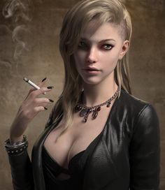bad girl, jina lee on ArtStation at…