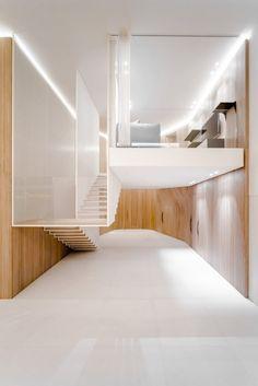 Wadi Penthouse, rénovation d'un appartement à Beyrouth par Platau - Journal du Design