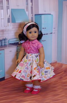 Baking Sweets circle skirt ensemble for von CupcakeCutiePie