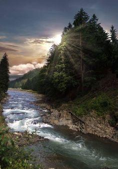 Blackfoot River in Montana