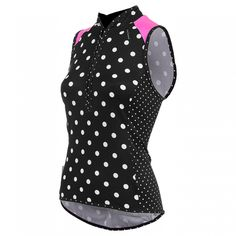 Bellissima Polkamania Sleeveless Jersey Cycling Tops 4df9293ac