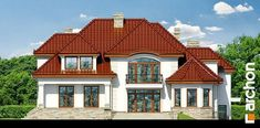 Bungalow House Design, Home Fashion, Home Builders, My Dream Home, Architecture Design, Villa, Mansions, House Styles, Bungalows