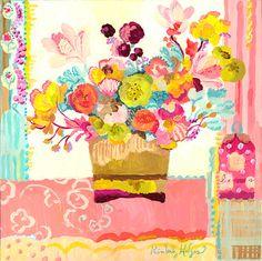 Amor es Giclée impresión por Kimberly Hodges 12 x 12 14 x