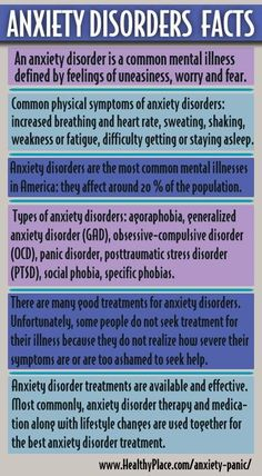 anxiety growing disorder Based on these prevalence rates, it is estimated that nearly 1 million australians  had affective disorders, over 23 million had anxiety disorders and over 800,000.
