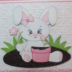 Adorable Bunny Card