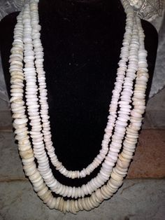 I restrung all my puka shells into one necklace