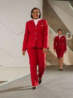 Delta Reveals New Uniforms By Zac Posen Zac Posen, Job Interview Preparation, Hotel Uniform, Airline Uniforms, Come Fly With Me, Uniform Design, American, New York Fashion, Classic Style