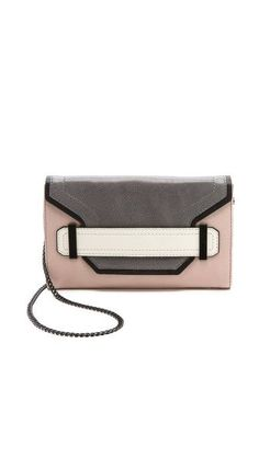 color-block clutch | Milly Kelly Colorblock Clutch