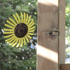 Hot glass sunflower