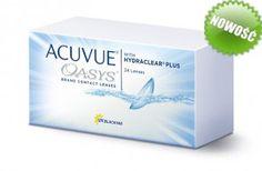 Soczewki kontaktowe Oasys 24 szt. - soczewki dwutygodniowe, sferyczne Personal Care, Self Care, Personal Hygiene