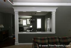 Doorways and Archways | Trim - around/above additional windows/window wall in LR