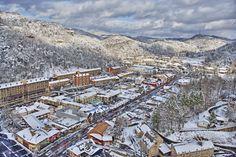 Gatlinburg, Tn  I love Gatlinburg in the winter after a good deep snow