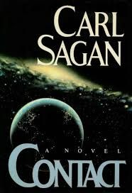 Contact by Carl Sagan - While you may not agree with everything presented in this book it has so much food for thought.