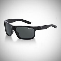 Arnette Polarized Easy Money Sunglasses - Gloss Black/Grey