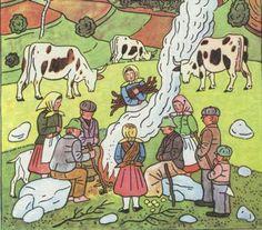 josef lada jaro - Hledat Googlem Children's Book Illustration, My People, Childrens Books, Illustrators, Nativity, Folk Art, The Past, Poster, Pictures
