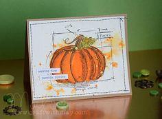 New Tim Holtz Distress: Carved Pumpkin