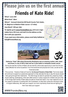 First Annual Friends of Kate Ride #ride #bike #rhodeisland #support #families #cancer #everydayneeds