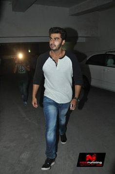 Arjun Kapoor at '2 States' Special Screening
