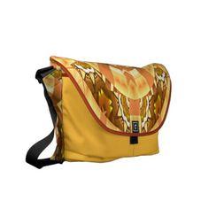 Wonderful Kaleidoscopic Art Design Messenger Bag