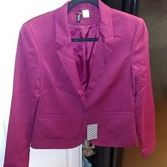 Maroon Burgundy Blazer NWT Maroon Burgundy Blazer NWT Divided by H&M Divided Jackets & Coats Blazers
