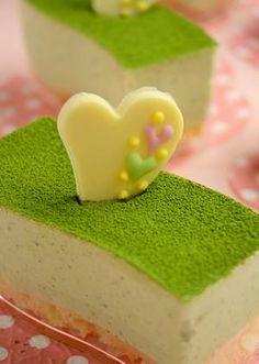 JUNAっちの食卓へようこそ!「抹茶とホワイトチョコのムース」 | お菓子・パンのレシピや作り方【corecle*コレクル】