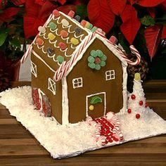 Carla Hall's Gingerbread House