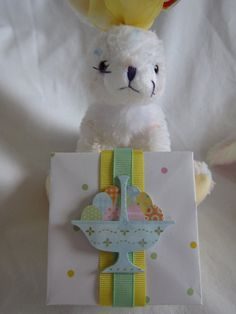 Easter gift boxes gift ideas pinterest easter easter gift box spring gift box handmade by packagedtoperfection negle Choice Image