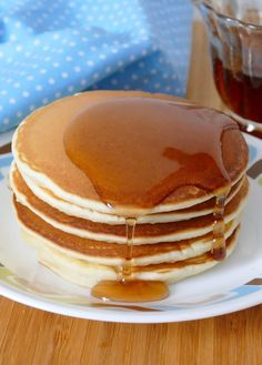 Easy Homemade From Scratch Pancakes Recipe - Easy Homemade From Scratch Pancakes - What's For Breakfast, Breakfast Pancakes, How To Make Breakfast, Breakfast Recipes, How To Cook Pancakes, Pancakes Easy, Best Pancake Recipe, Pancakes From Scratch, Brunch Dishes
