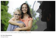 10 year-old Reino Hill and his mom, Maria Hill, in Antioch, Ill. Reino has a visual processing disor. Irlen Syndrome, Reading Difficulties, Library Work, Made Up Words, Dyscalculia, Vision Therapy, Pediatric Ot, Occupational Therapist, Fit Board Workouts