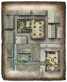 An untagged hi-res version of the Ragatromo's Shop of Mirrors map included in the adventure Blades of the Stygian Masque from Dungeon Magazine #219.  Sized at 3450 x 4200 pixels, it's perfect for home printing or screen display.  Purchase the hi-res download here - Blades of the Stygian Mask; Ragatromo's Shop (Player Version)