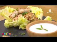 """خفيف ظريف : مع الشاف فارس تحضير طبق """"كريات بالديك الرومي مع صلصة الكريمة """" - Samira Tv - YouTube"""