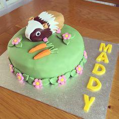 Guinea pig birthday cake for my sister