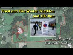 ActiveSteve braves the cold temperatures to tackle a new race in the Ottawa / Gatineau region, the Frost and Fire Winter Triathlon and Run. In the Triath. Triathlon, Frost, Racing, Fire, Events, Baseball Cards, Winter, Happenings, Triathalon