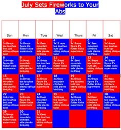 July Ab Calendar