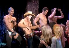 Cameron, Daniel, Rafe and Brady strip for a good cause! #StripDAYS #DAYS