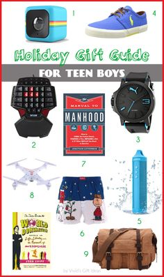 Xmas gifts ideas for teenage boys