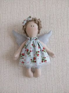 (99) Одноклассники Christmas Bird, Christmas Angels, Christmas Crafts, Christmas Ornaments, Felt Angel, Handmade Baby Gifts, Angel Crafts, Sewing Dolls, Fabric Dolls