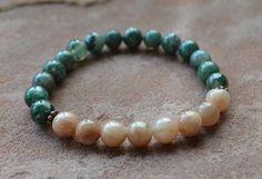 Layering Bracelet Fertility Reflection by GratefulHeartBazaar