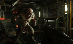 Nice Doom 3 Graphics.