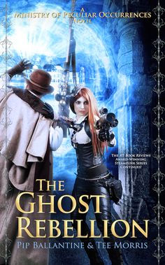 Today on the blog: The Cover Reveal of THE GHOST REBELLION, the fifth  novel in…
